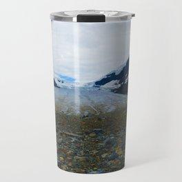 Columbia Icefields in Jasper National Park, Canada Travel Mug