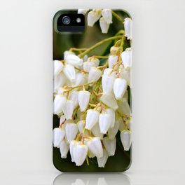 White Bells iPhone Case