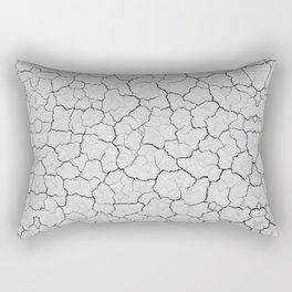 gray clay earth nature print Rectangular Pillow
