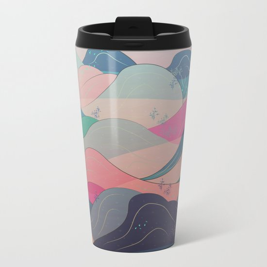 Dreaming of Japan Metal Travel Mug