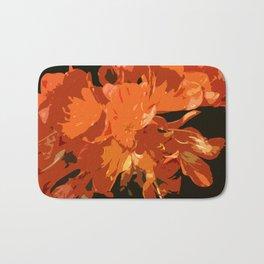 Orange Bush Lily Bath Mat