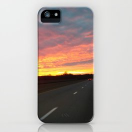 December Sunrise iPhone Case