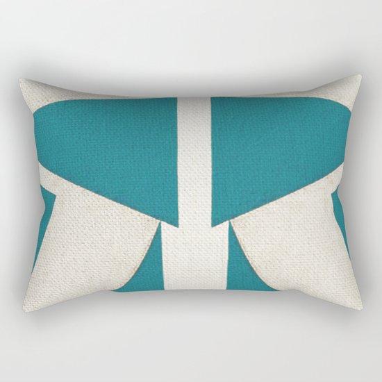 Lucha Libre Mask 5 Rectangular Pillow