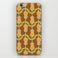70s iPhone & iPod Skins featuring 70s Flowers by Apple Kaur
