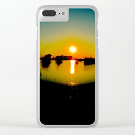 I in the sky Clear iPhone Case