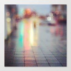 Light Blur Canvas Print