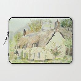 Picturesque Dunster Cottage Laptop Sleeve