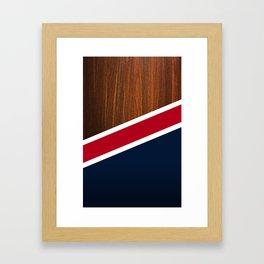 Wooden New England Framed Art Print
