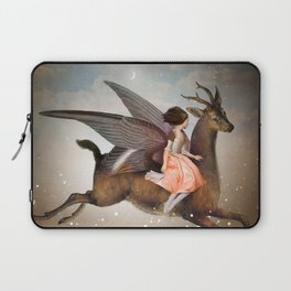 The Night Is Still Young Laptop Sleeve