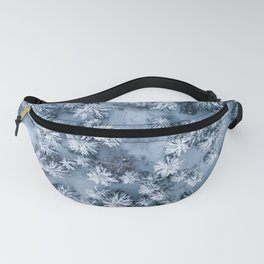 Winter Pine Forest Fanny Pack