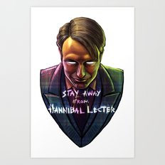 Famous Last Words Art Print