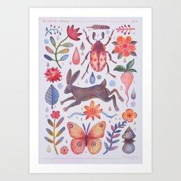 Et coloris natura V Art Print