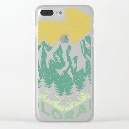 Colorado Tee, Colorado Native product Clear iPhone Case