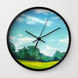 Prospect Park Long Meadow 3 Wall Clock