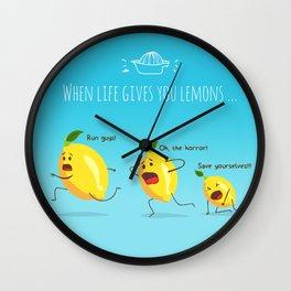 LemonAID Wall Clock