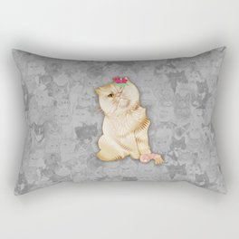 Peaches Revision Rectangular Pillow