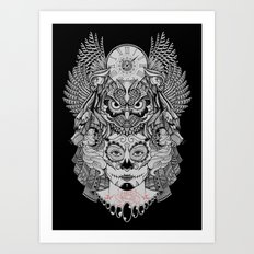 The Eldest Daughter II  Art Print