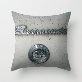 BARRACUDA Badge 2 Throw Pillow
