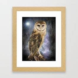 Wise Old Owl - Image Art Framed Art Print