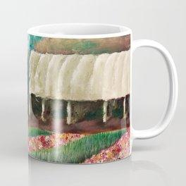 Somis, Ca Greenhouse – Acrylic Painting Coffee Mug