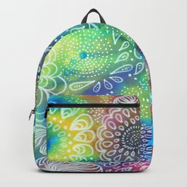 Water colors 1 - Rainbow corals Backpack