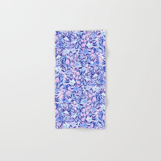 Nonchalant Blue Hand & Bath Towel