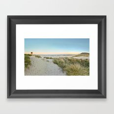 Oregon Coast Sunrise Framed Art Print