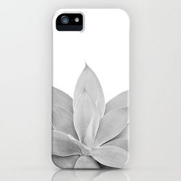 Gray Agave #1 #tropical #decor #art #society6 iPhone Case