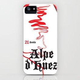 Alpe d'Huez 2, More Menace! iPhone Case