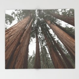 Sky Climbers - Sequoia Throw Blanket