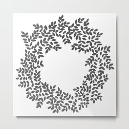 Laurel Wreath Metal Print