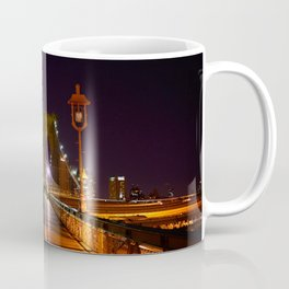 Brooklyn Bridge at Night Coffee Mug