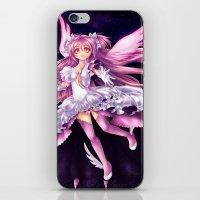 madoka magica iPhone & iPod Skins featuring Puella Magi Madoka Magica- Ultimate Madoka by StephanieIllustrations