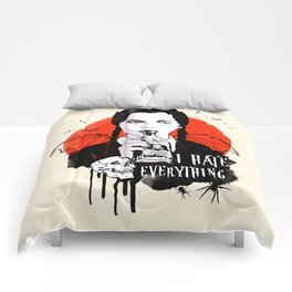 Wednesday The Addams family art Comforters