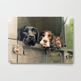 Stanley, Walter and Jet Metal Print
