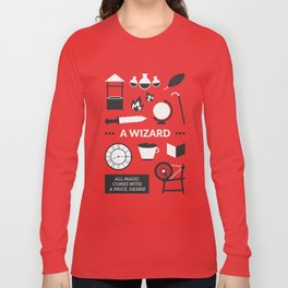 OUAT - A Wizard Long Sleeve T-shirt