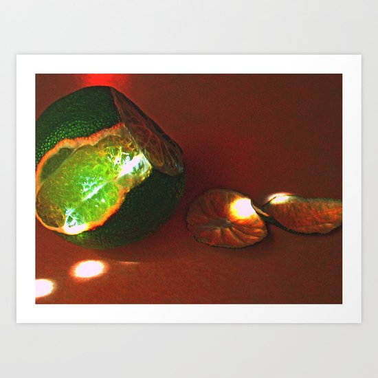 There is Still Life Art Print