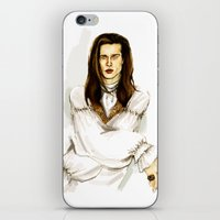 louis iPhone & iPod Skins featuring Louis by Myrtle Quillamor