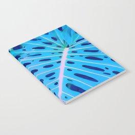 Monstera Blue Notebook