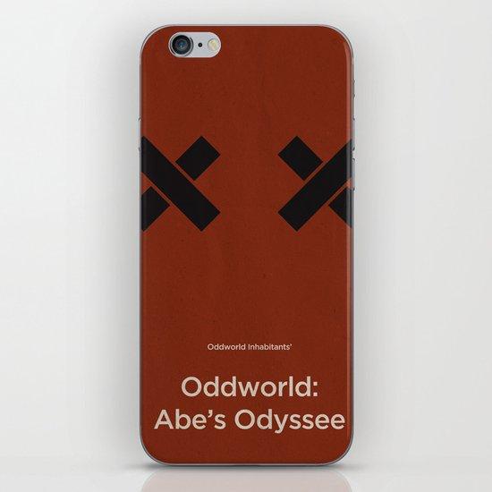 Oddworld Inhabitants' Oddworld: Abe's Odyssee iPhone & iPod Skin