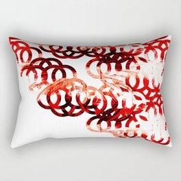 Circle shirt Rectangular Pillow