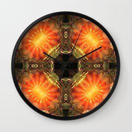 Manifest Sacred Flame Activation Wall Clock