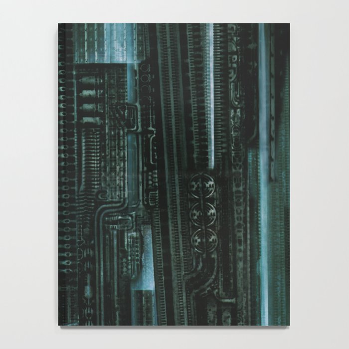 HR Giger Textures Notebook