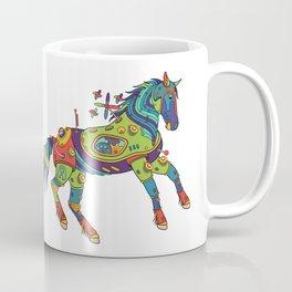 Horse, cool wall art for kids and adults alike Coffee Mug
