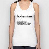 bohemian Tank Tops featuring bohemian by bohemianizm