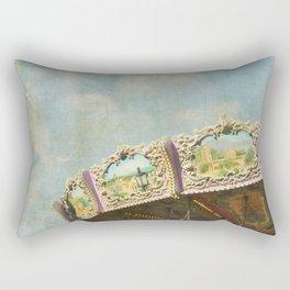 Joy Meets Sky Rectangular Pillow