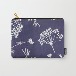 Wildflowers-Indigo Carry-All Pouch