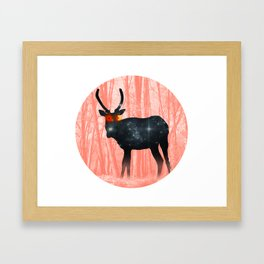 Young Spirit of the Forest Framed Art Print
