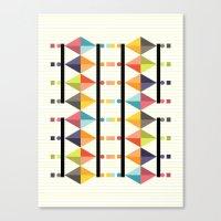 polygon Canvas Prints featuring Polygon by Sudário