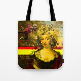 IT'S ALL ABOUT THE YELLOW FLOWER HEADDRESS Tote Bag